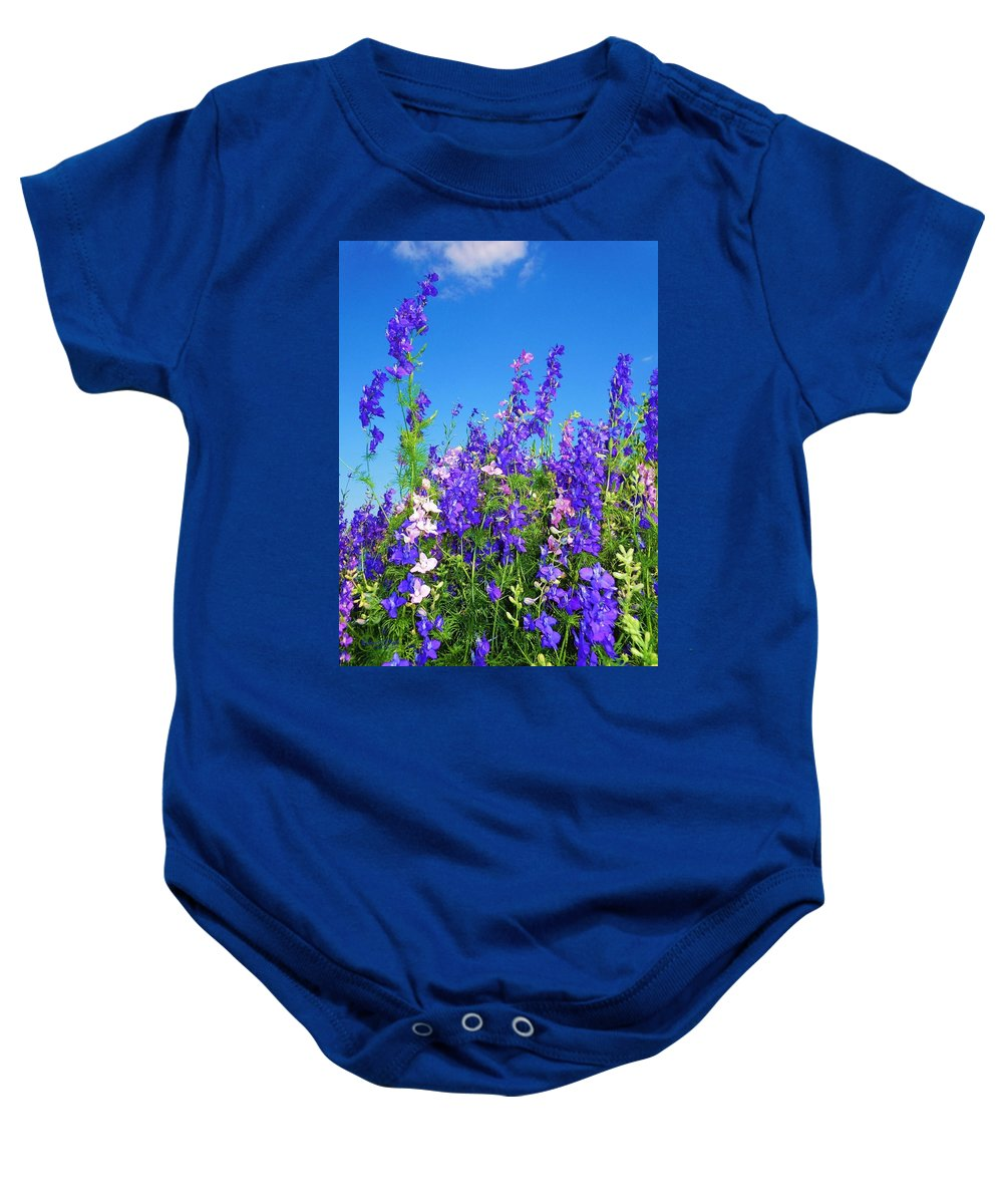 Wildflowers Baby Onesie featuring the photograph Wildflowers #11 by Robert ONeil