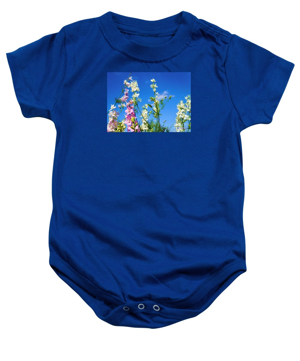 Wildflowers Baby Onesie featuring the photograph Wildflowers #13 by Robert ONeil