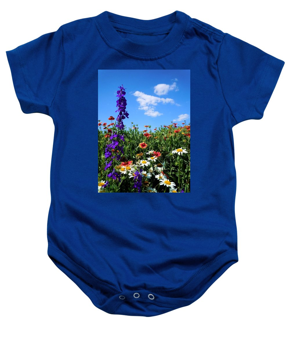 Wildflowers Baby Onesie featuring the photograph Wildflowers #7 by Robert ONeil