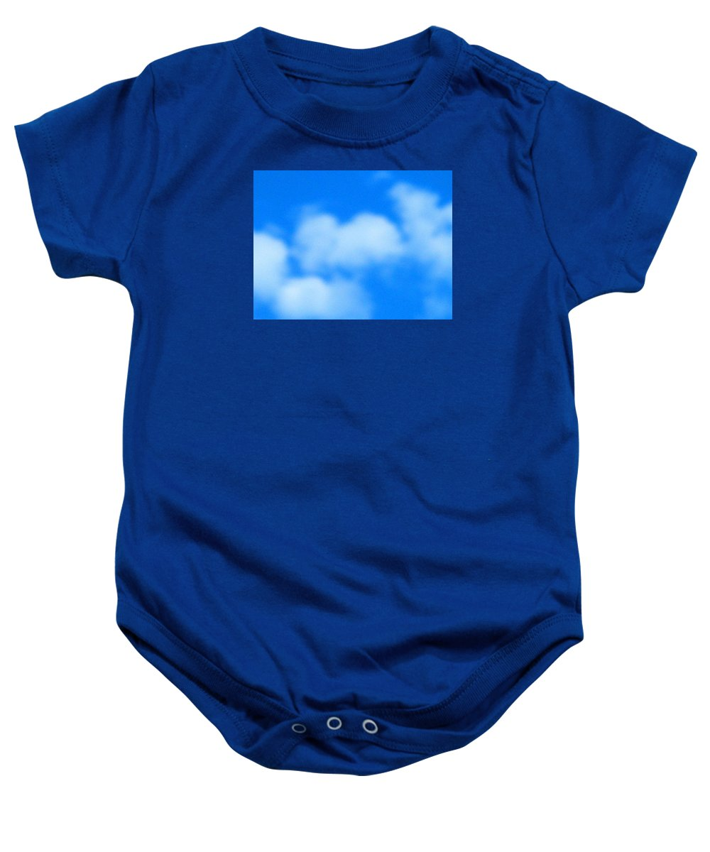 Cloud Baby Onesie featuring the photograph With Love by April Patterson