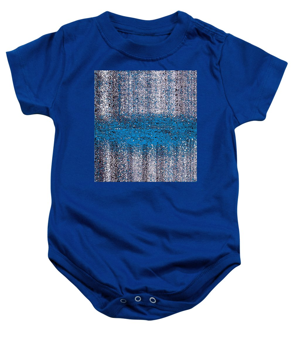 Baby Onesie featuring the digital art Color Rust by Mihaela Stancu