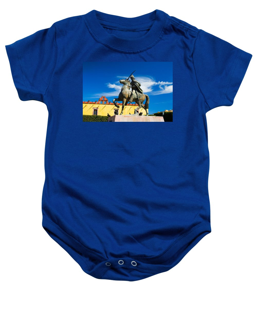 Architecture Baby Onesie featuring the photograph A Ride In The Clouds by Eggers Photography