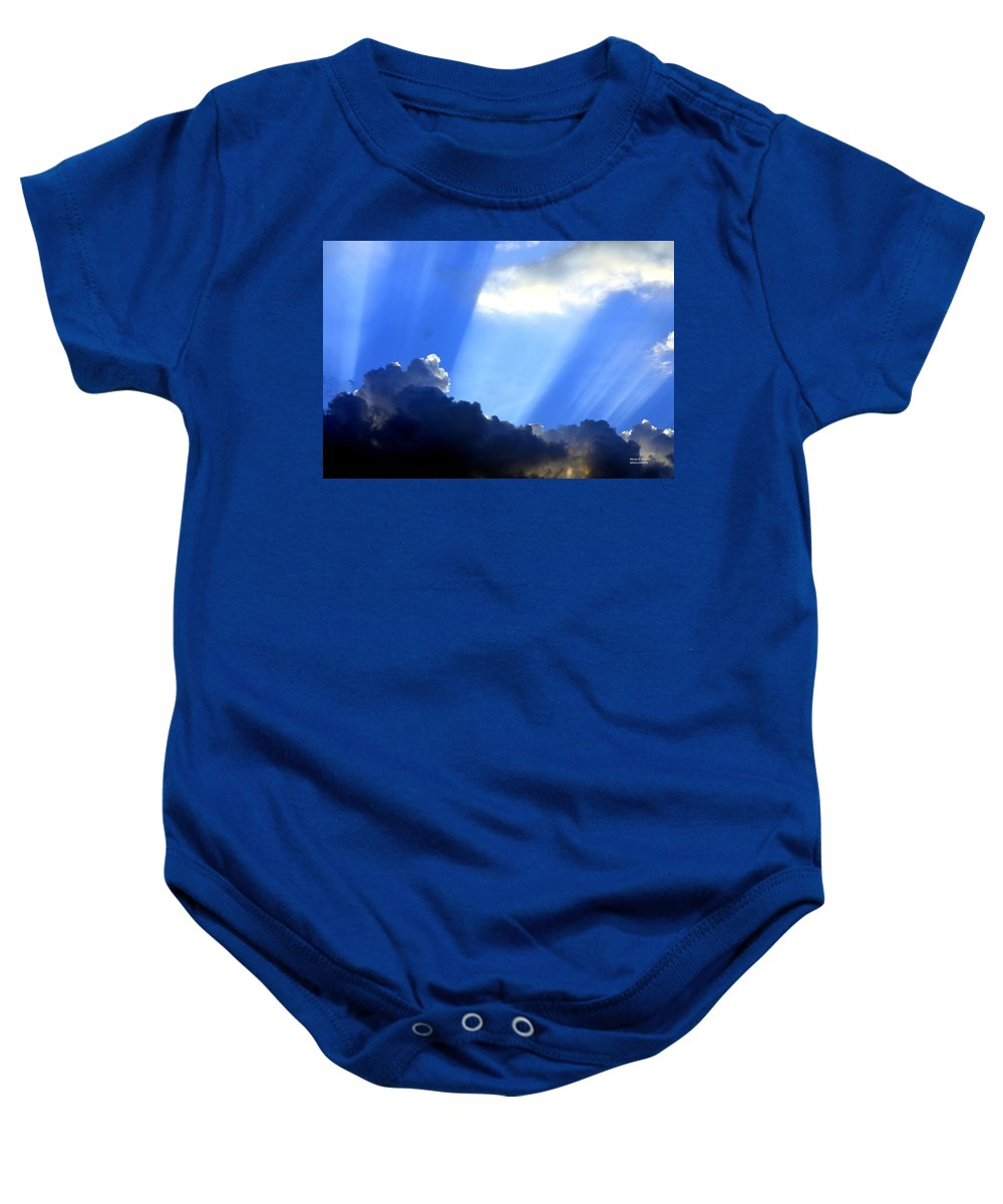 Before Baby Onesie featuring the photograph Before Dusk by Maria Urso