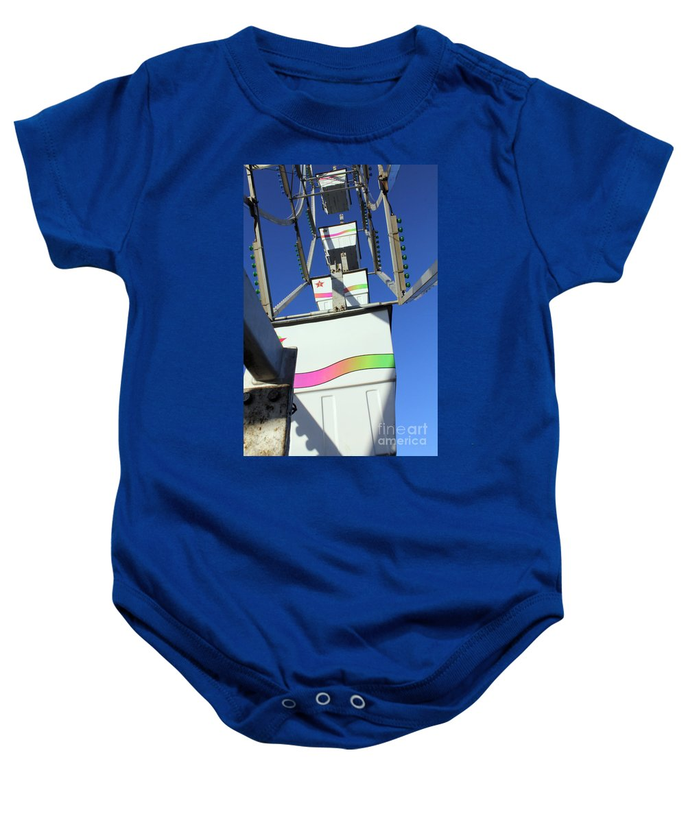Carnival Baby Onesie featuring the photograph Bucket List by Alycia Christine