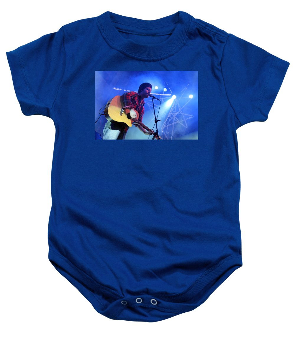 Michael Baby Onesie featuring the photograph Michael Hartenberger by Munir Alawi