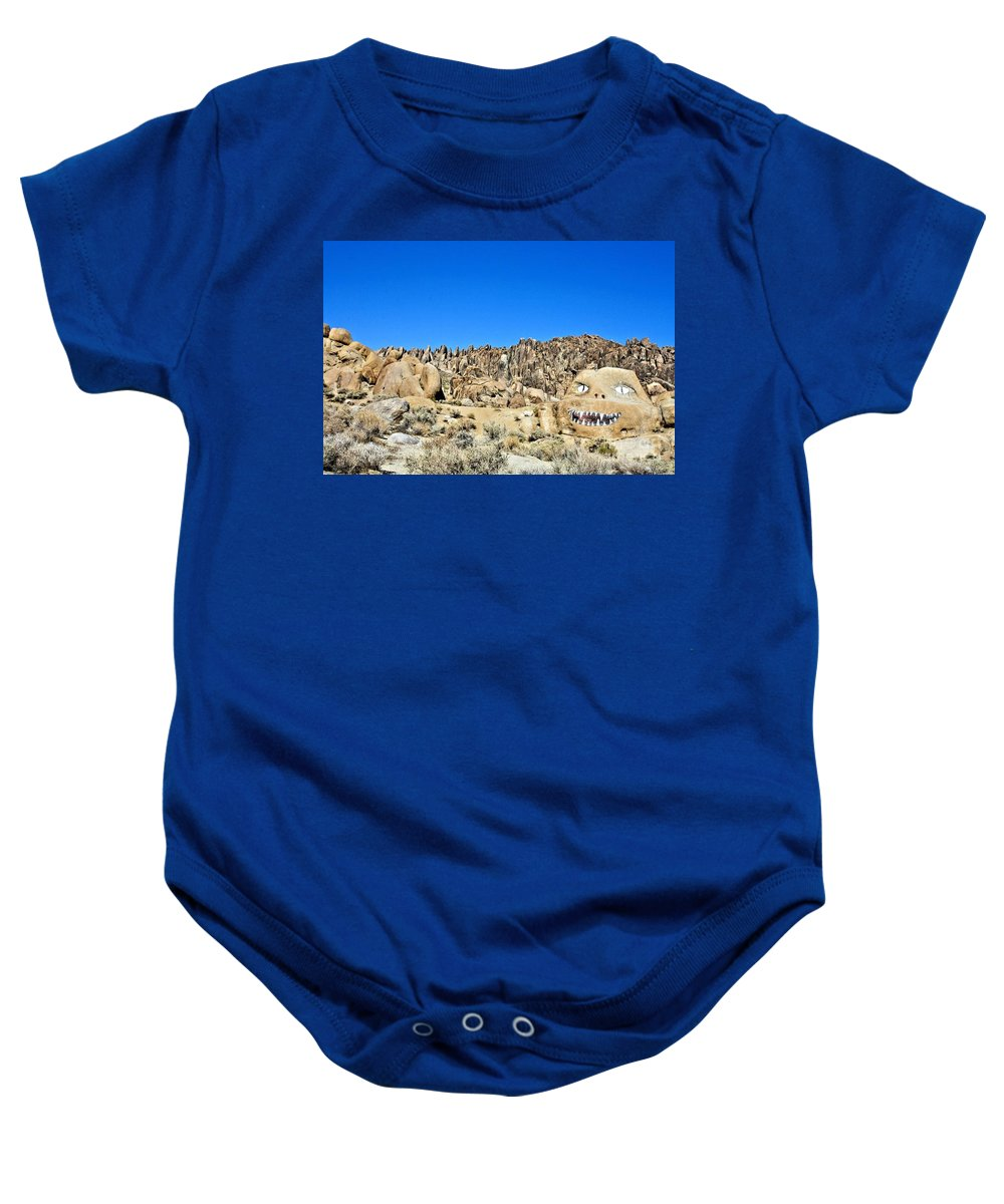 Mount Whitney Baby Onesie featuring the photograph Mount Whitney Gardian by Tommy Anderson