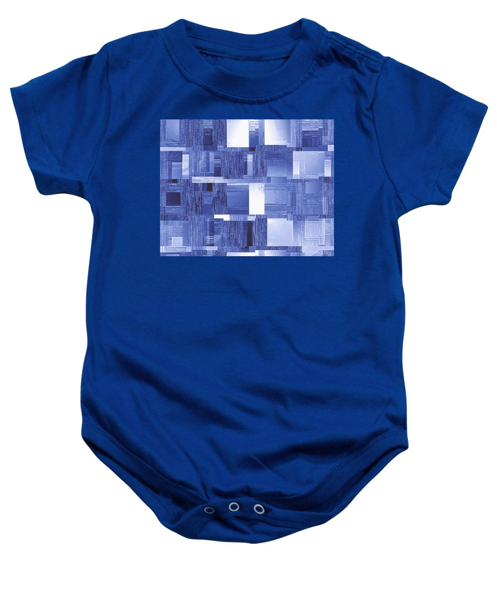 Moveonart! Global Gathering. Branch coolinsights Digital Abstract Art By Artist Jacob Kane Kanduch -- Omnetra Baby Onesie featuring the digital art Moveonart Coolinsights by Jacob Kanduch