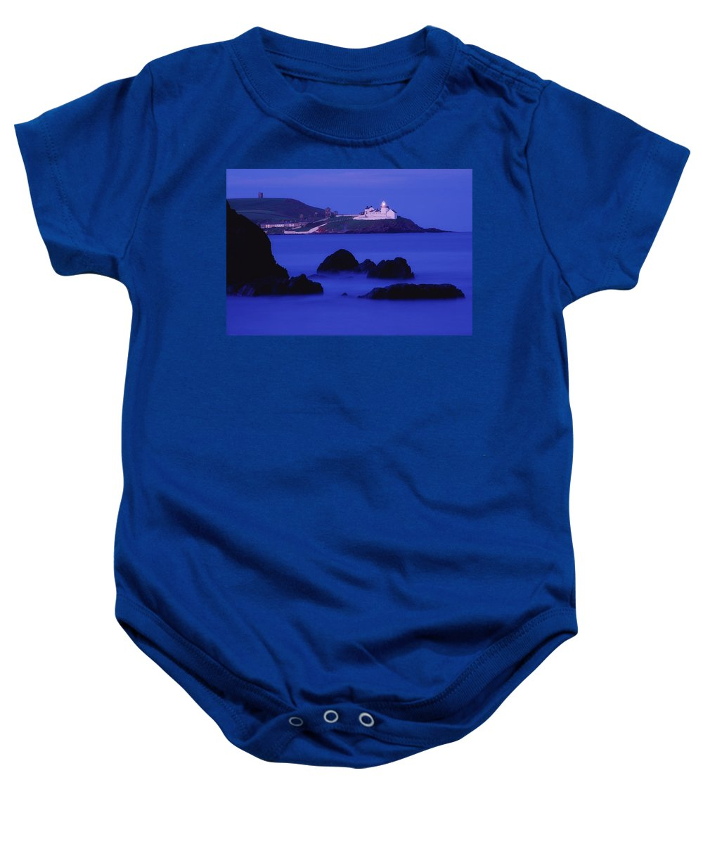 Architecture Baby Onesie featuring the photograph Roches Point, Whitegate, County Cork by Richard Cummins