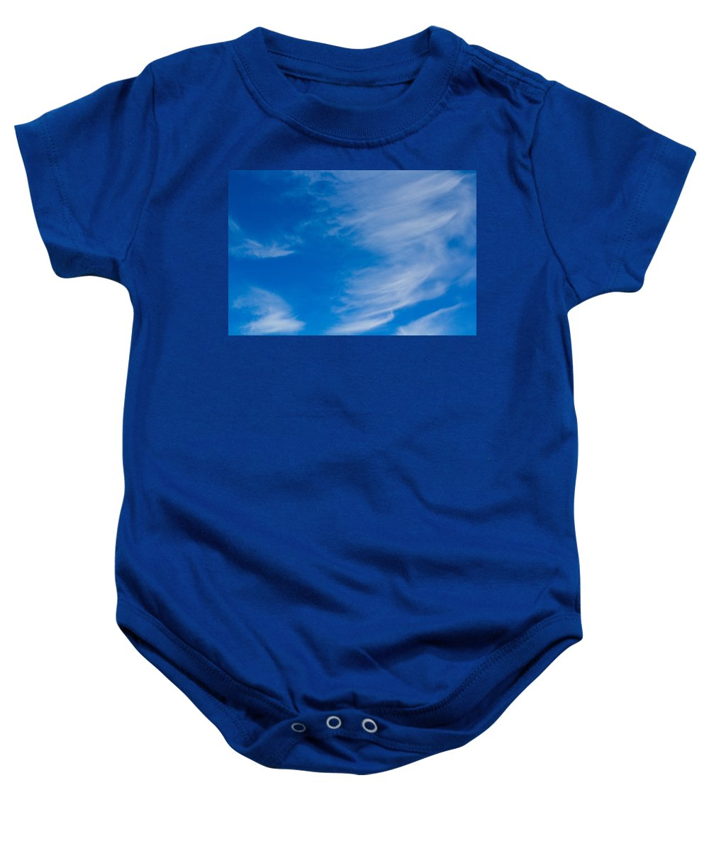 Clouds Baby Onesie featuring the photograph Summer Cloud Images by David Pyatt