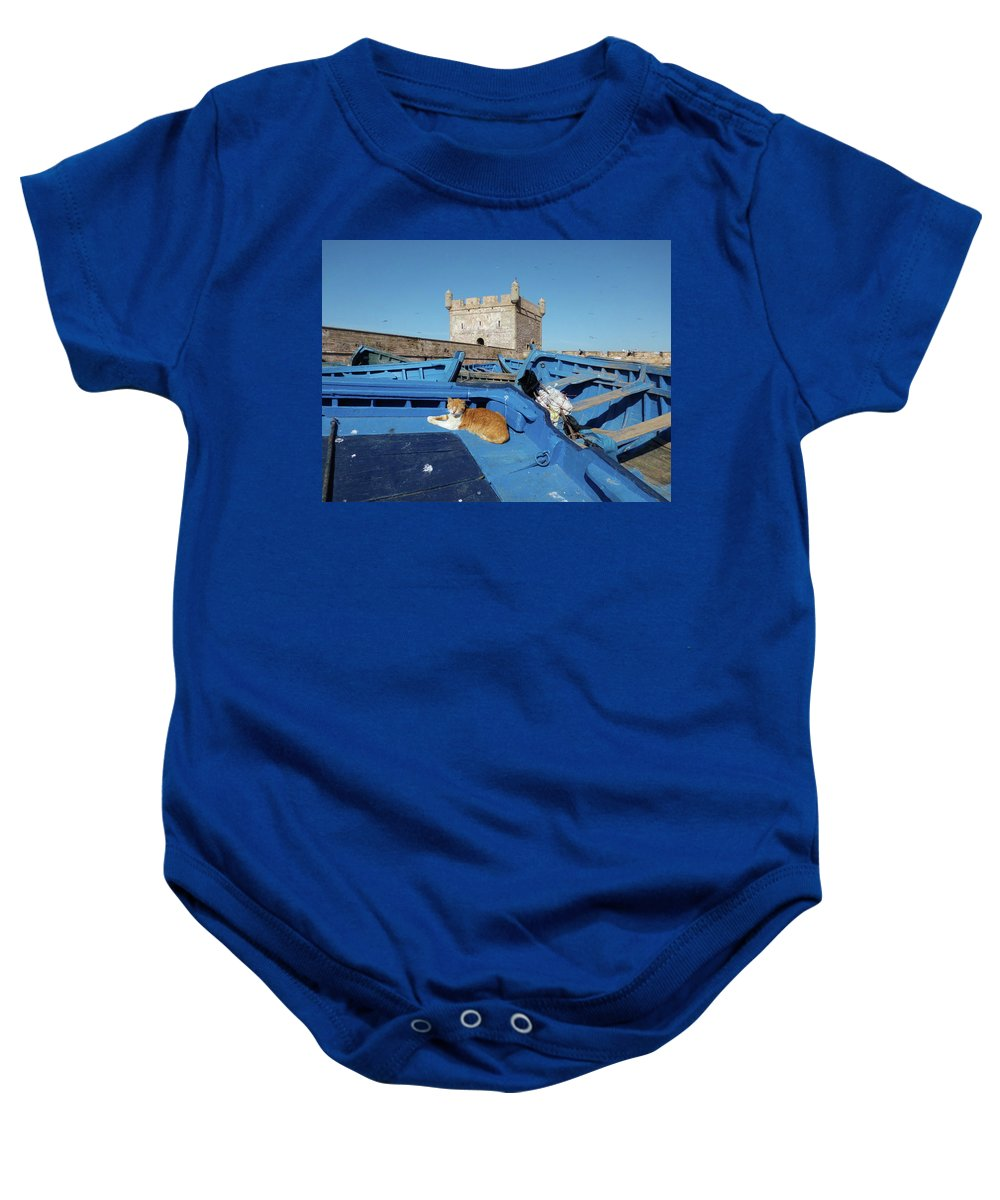 Travel Baby Onesie featuring the photograph The Guardian 02 by Miki De Goodaboom