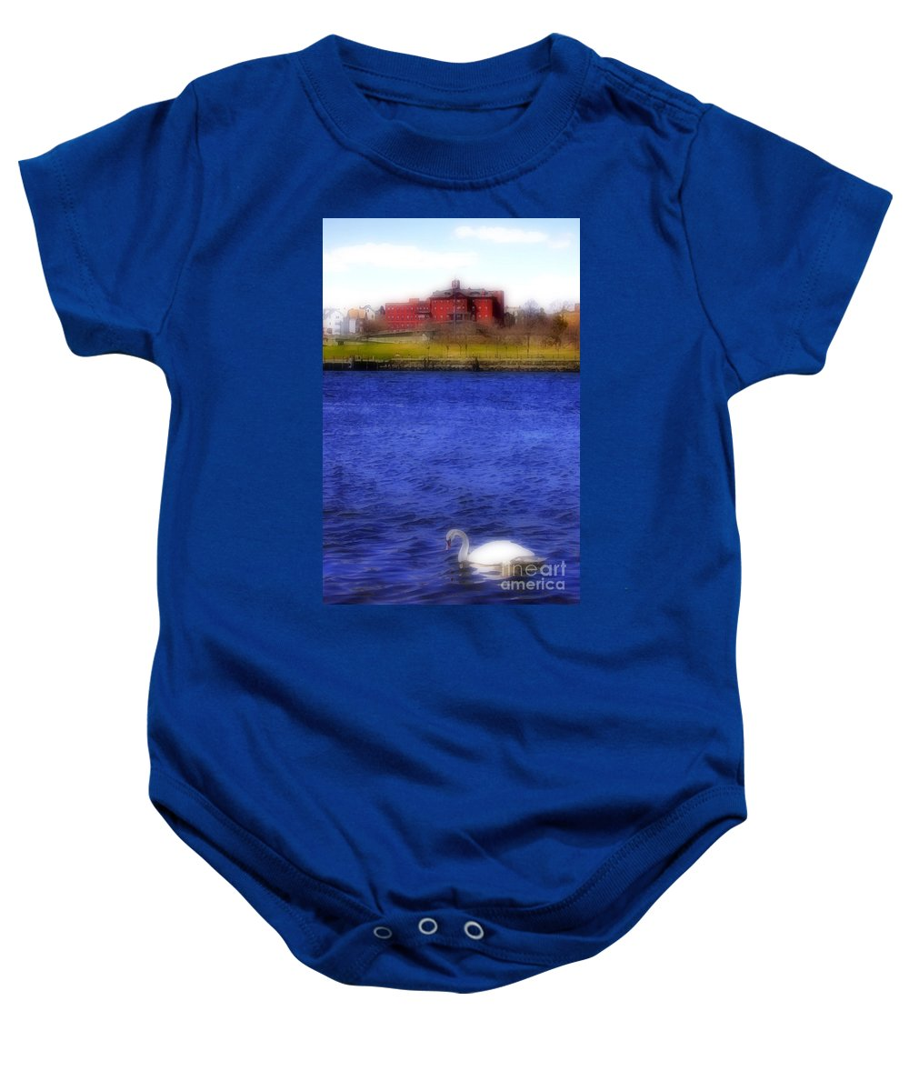 Digital Baby Onesie featuring the photograph Watercolours 131 by Mike Nellums