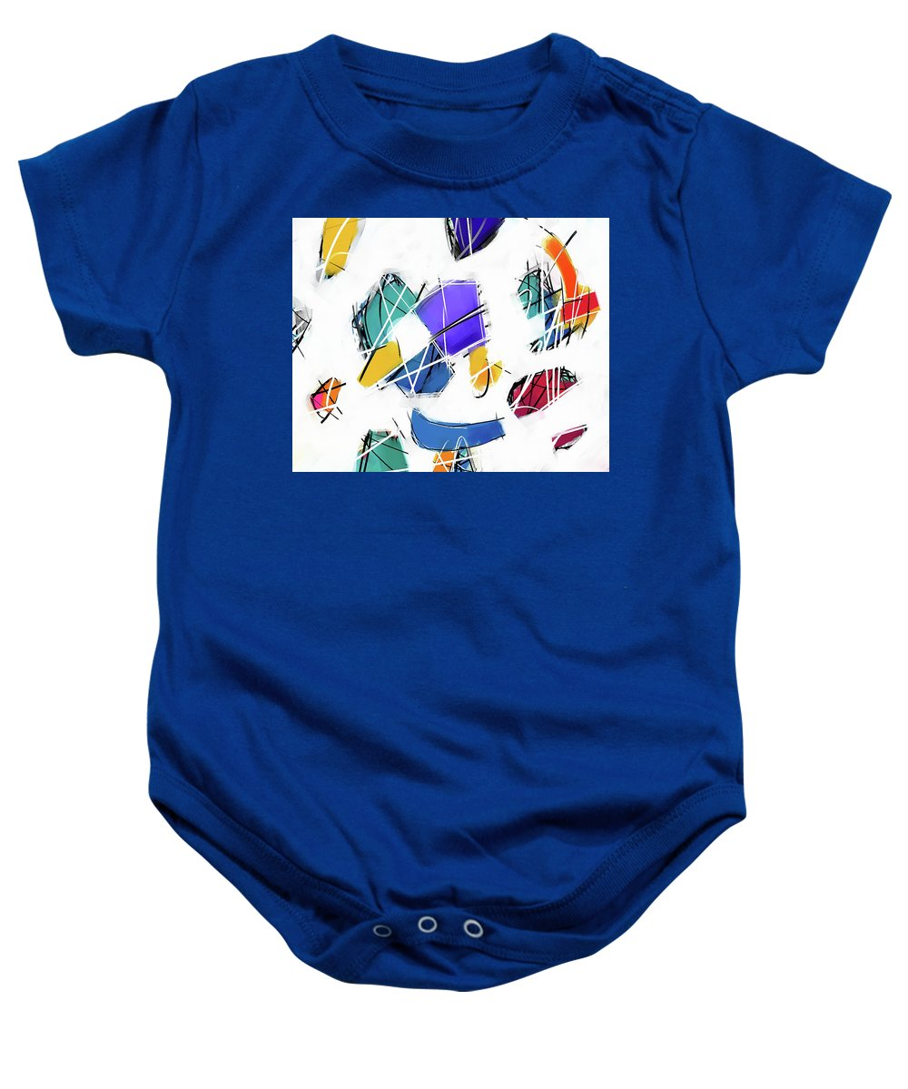 Painting Baby Onesie featuring the painting 071217aa by Toshio Sugawara