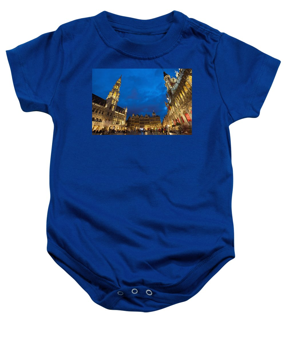 Colour Image Baby Onesie featuring the photograph Brussels, Belgium by Axiom Photographic