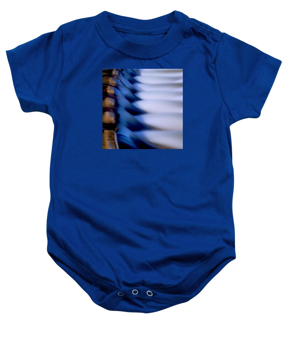 Nature Baby Onesie featuring the photograph Fallingwaterstudy 2.2 by Patrick O'Brien