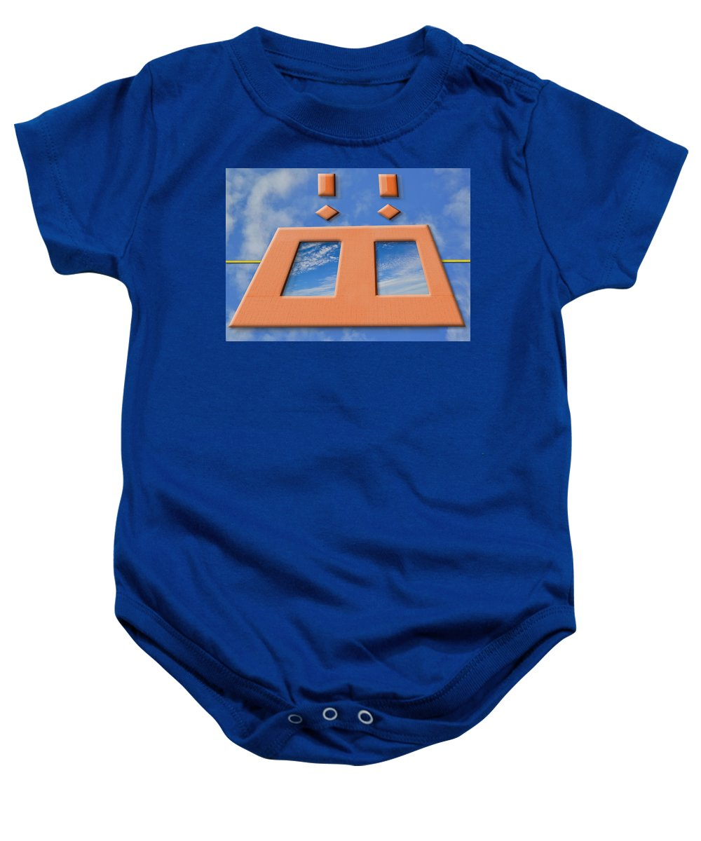 Parallel Universe Baby Onesie featuring the photograph Parallel Universe by Paul Wear