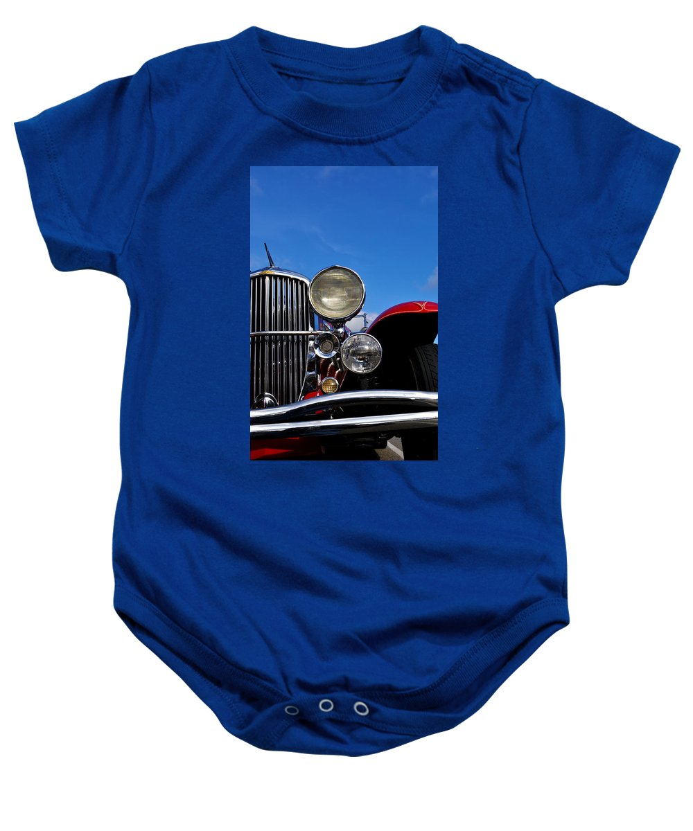 Vintage Baby Onesie featuring the photograph Duesenberg by Tim Nyberg