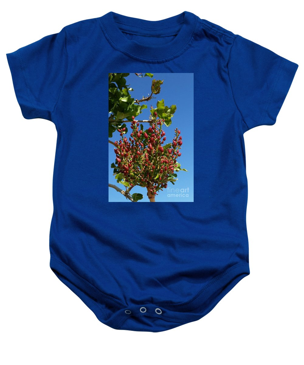 Baby Onesie featuring the photograph Kerman by Maria Pancheri