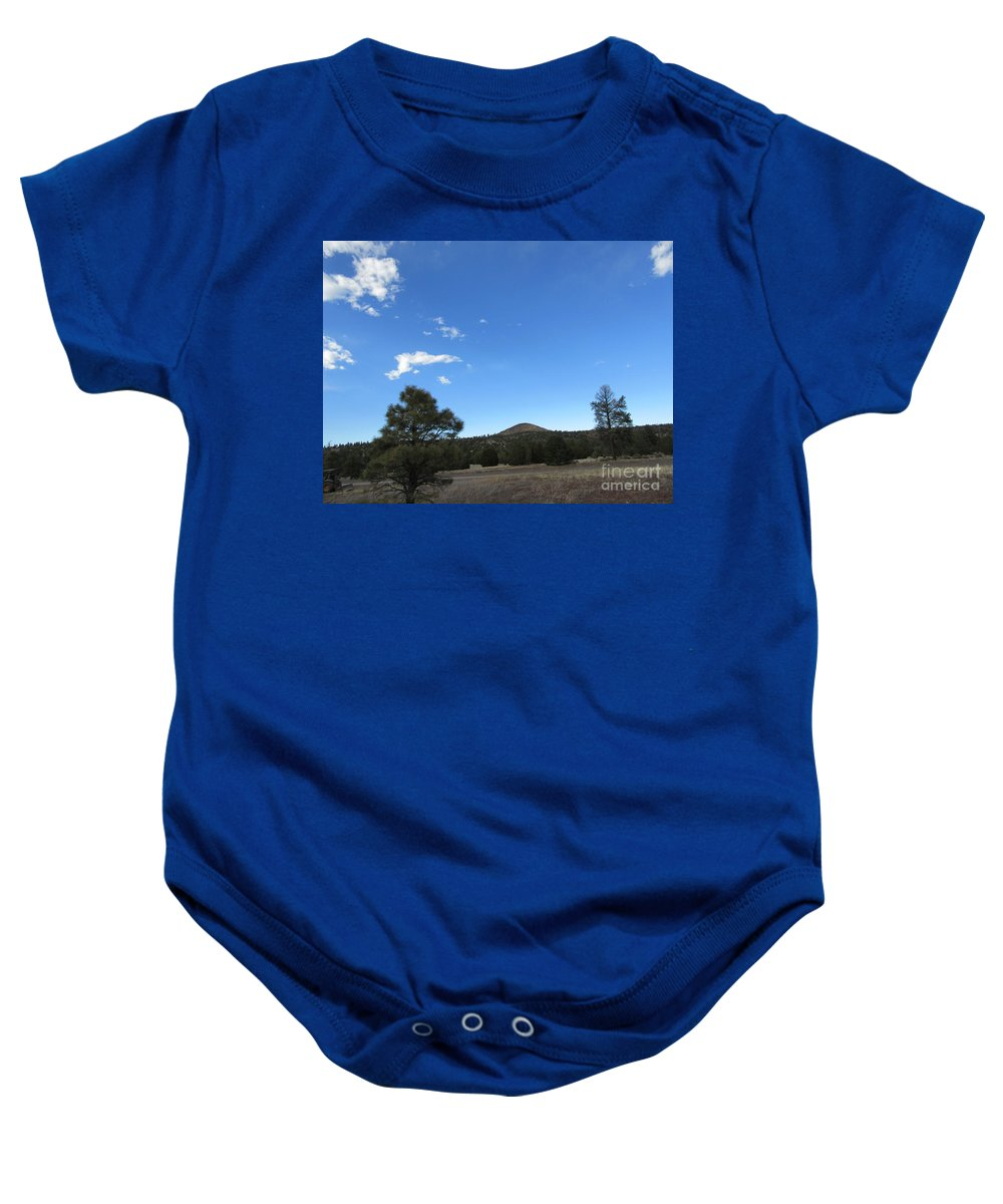 Desert Baby Onesie featuring the photograph Desert Landscape by Frederick Holiday