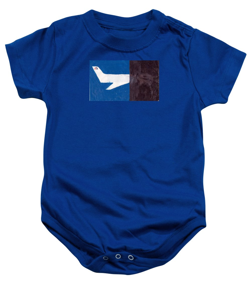 September11th 9/11fourattacksislamicalqaedanewyorkcitywashington Baby Onesie featuring the mixed media 9-11-13 by William Douglas