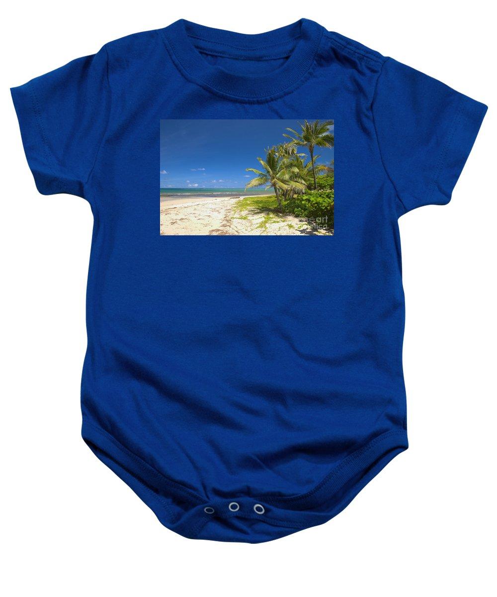 Aqua Baby Onesie featuring the photograph Oahu, Lanikai Beach by Tomas del Amo - Printscapes