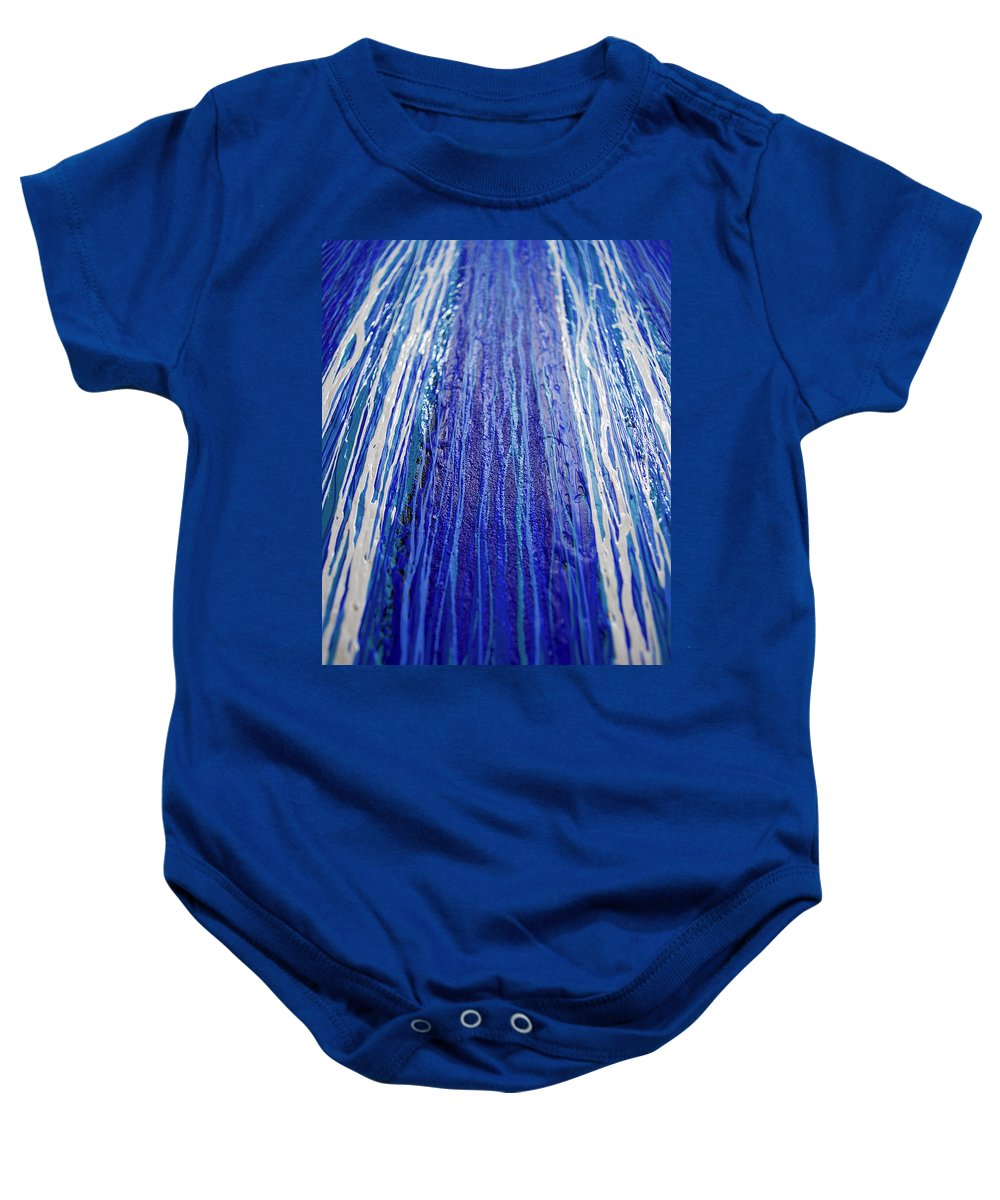 Abstract Baby Onesie featuring the photograph Abstract Artography 560025 by E Lee Wilson Jr