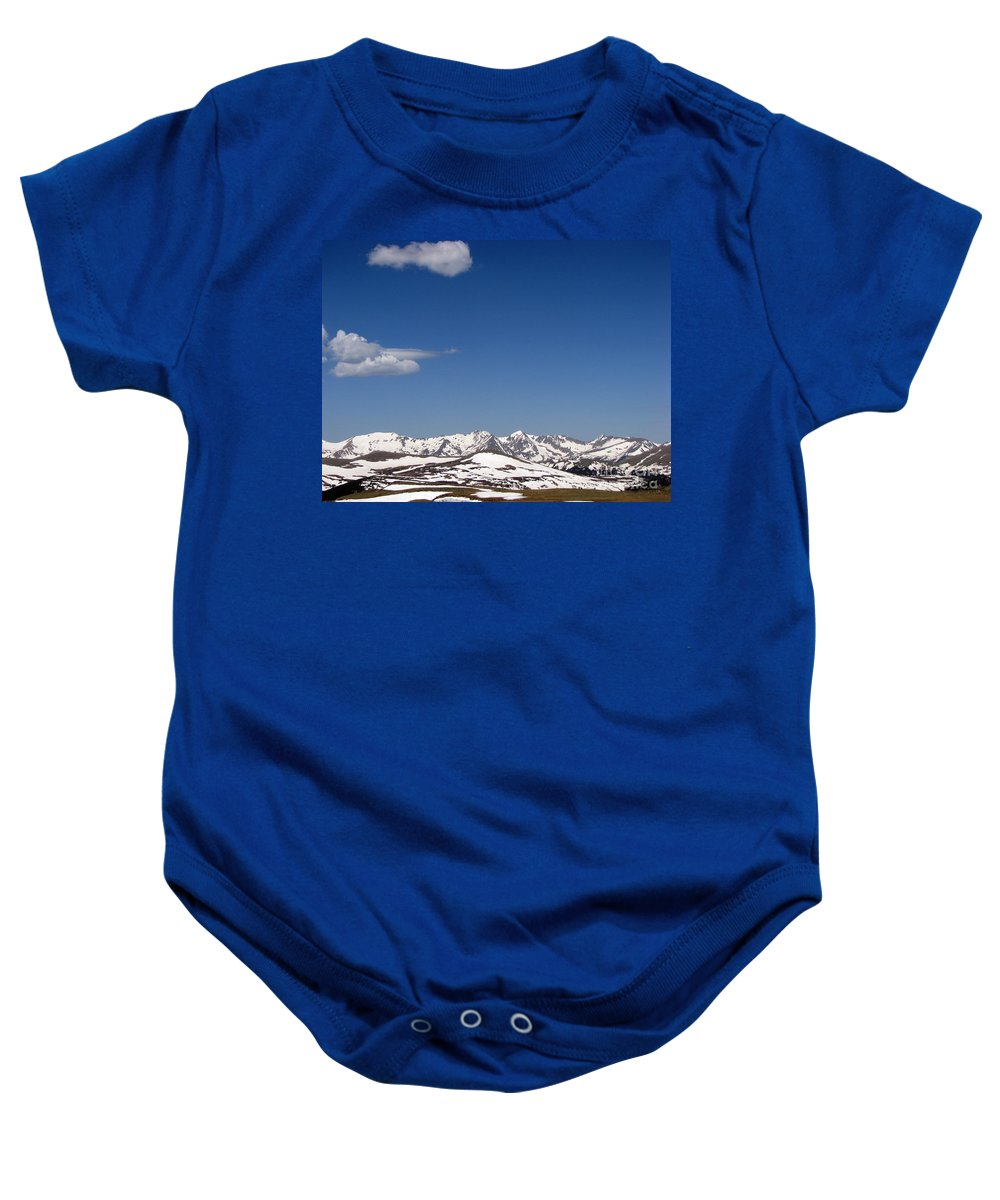 Mountains Baby Onesie featuring the photograph Alpine Tundra Series by Amanda Barcon