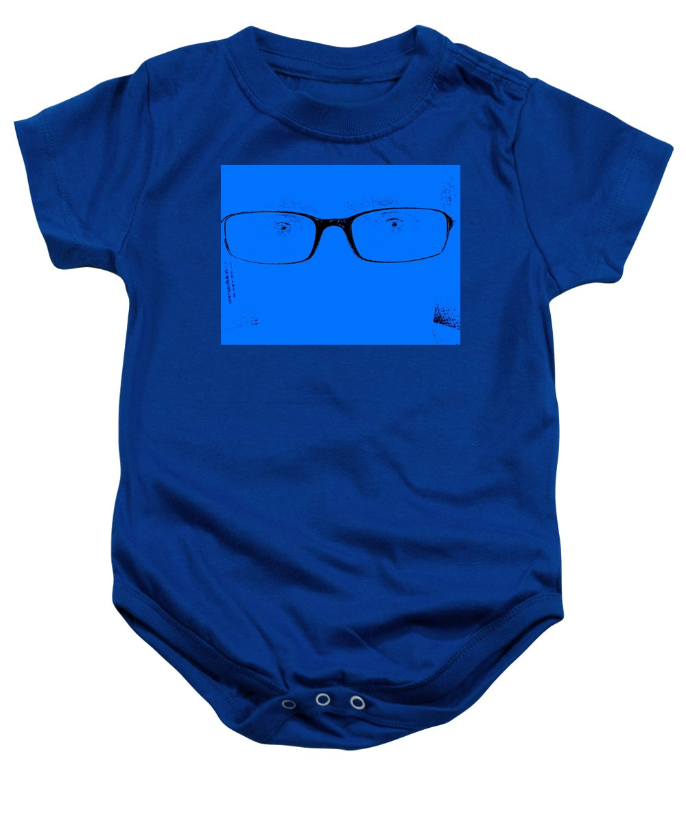 Fae Baby Onesie featuring the photograph Are You Still There by Ed Smith