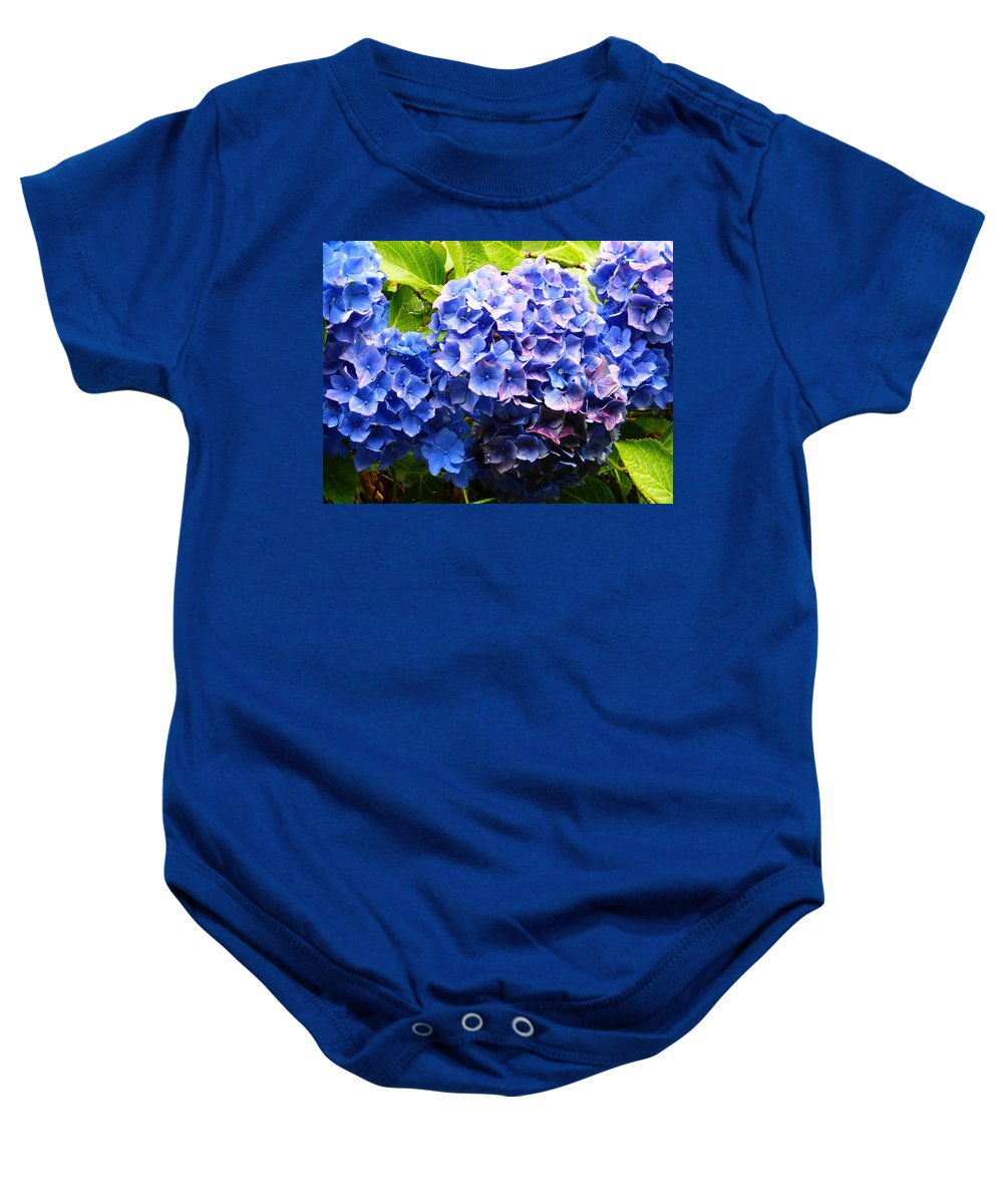 Flower Baby Onesie featuring the photograph Beauty Of Blue. by Phil Panton