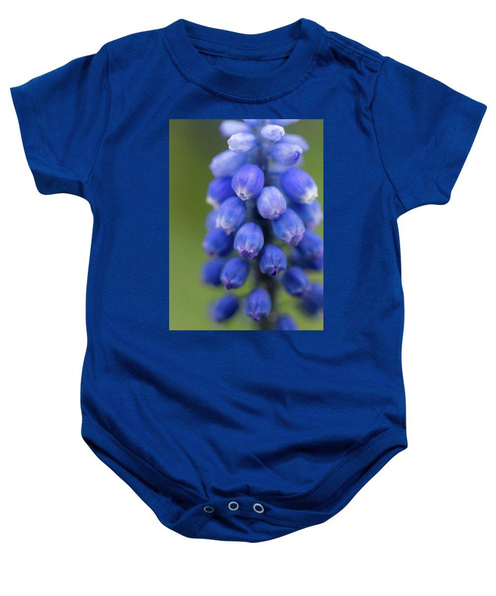 Blue Magic Baby Onesie featuring the photograph Blue Magic by Jess Kruk