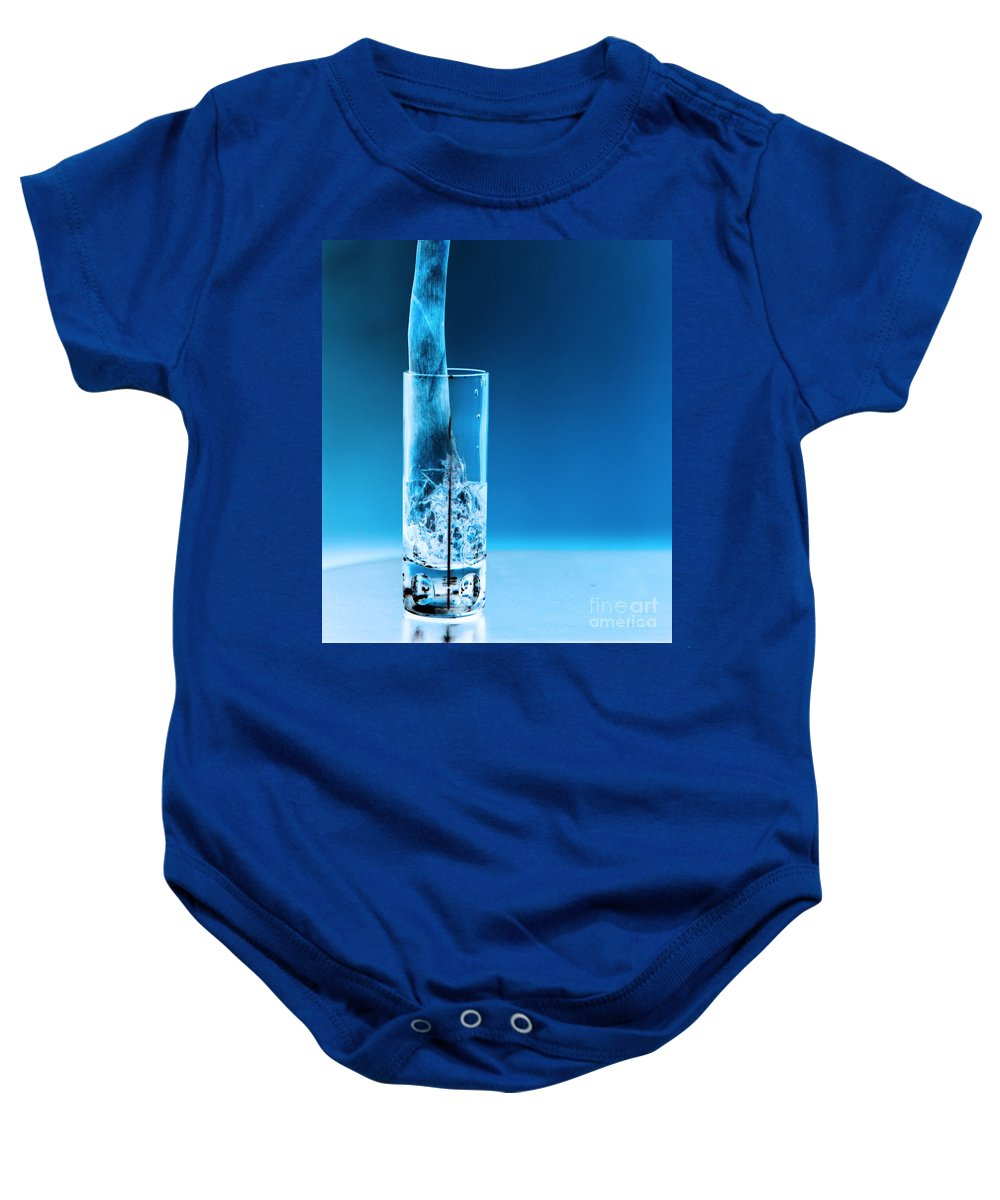 Bar Baby Onesie featuring the photograph Chicago Bar by Amanda Barcon