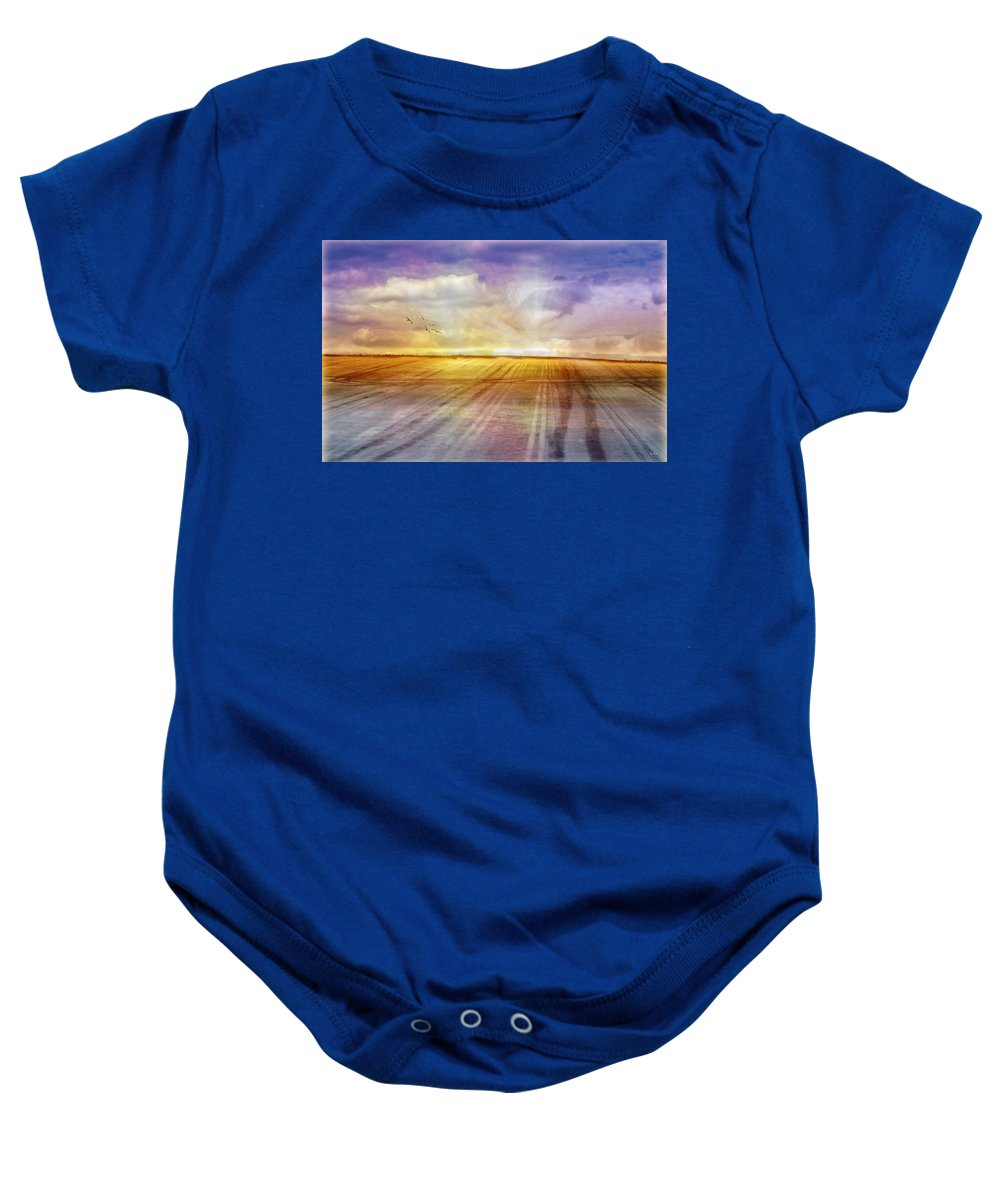 Landscapes Baby Onesie featuring the photograph Choices by Holly Kempe