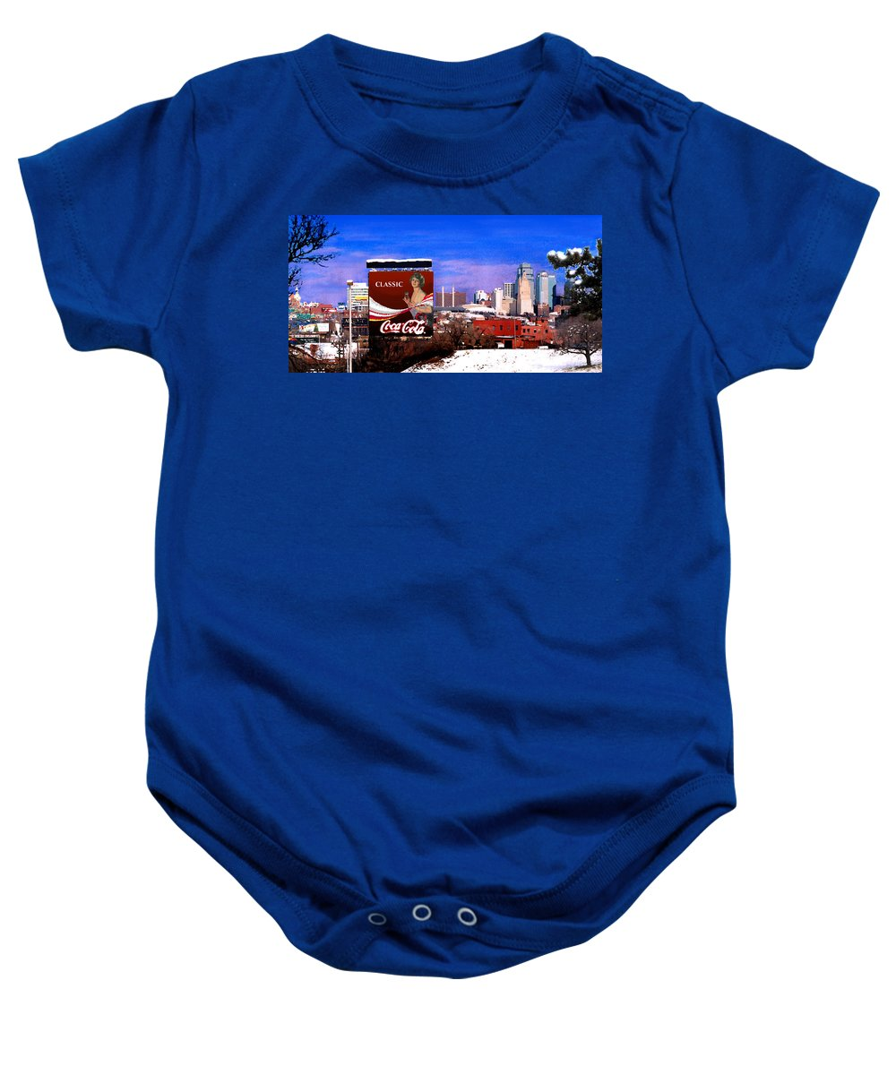 Landscape Baby Onesie featuring the photograph Classic by Steve Karol