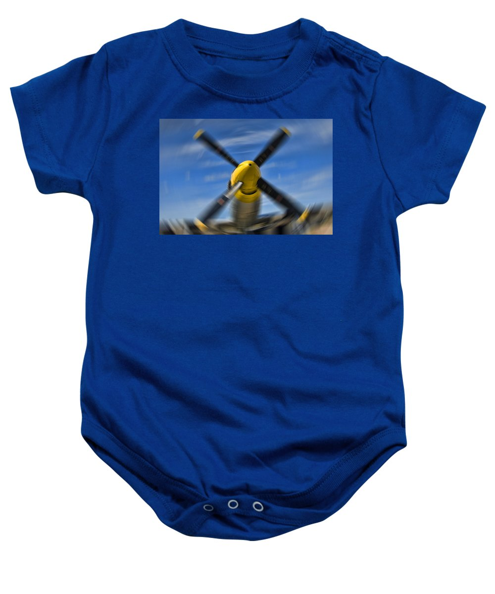 Prop Baby Onesie featuring the photograph Clear Prop by Steven Richardson