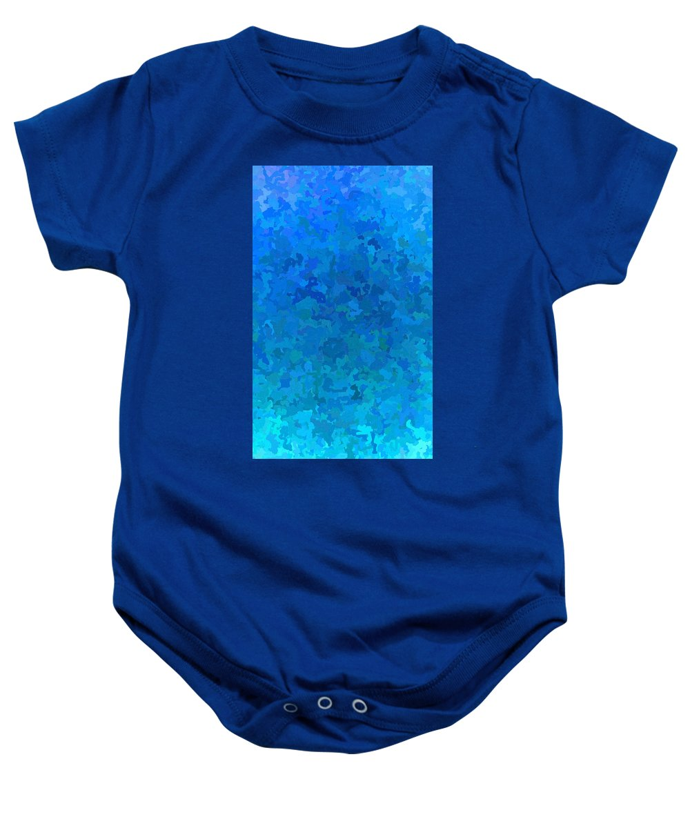 Cloud Baby Onesie featuring the digital art Clouded Thoughts Of You by April Patterson