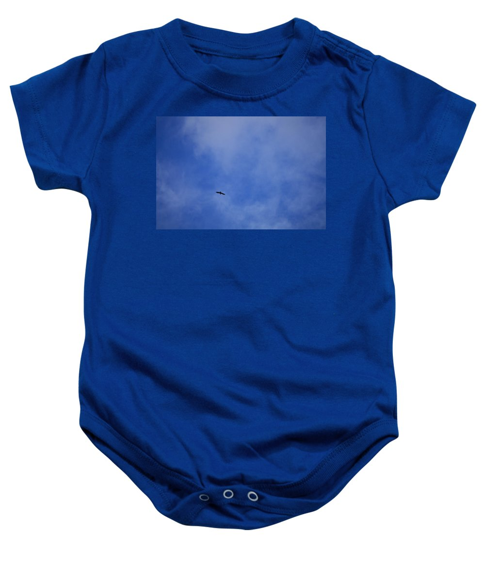 Cloud.sky Baby Onesie featuring the photograph Clouds 2 by Teresa Mucha