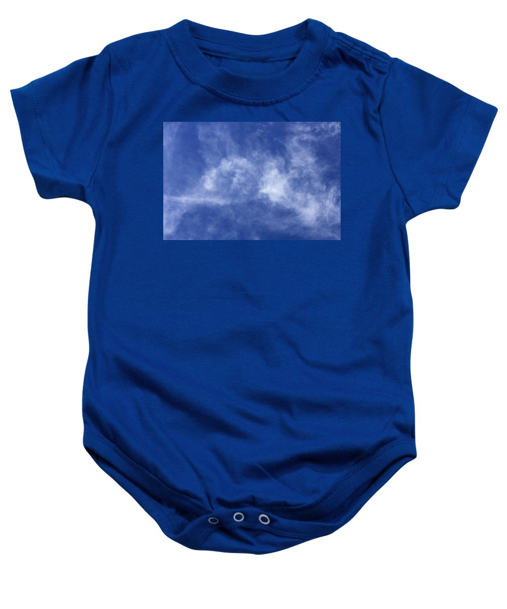 Cloud.sky Baby Onesie featuring the photograph Clouds 6 by Teresa Mucha