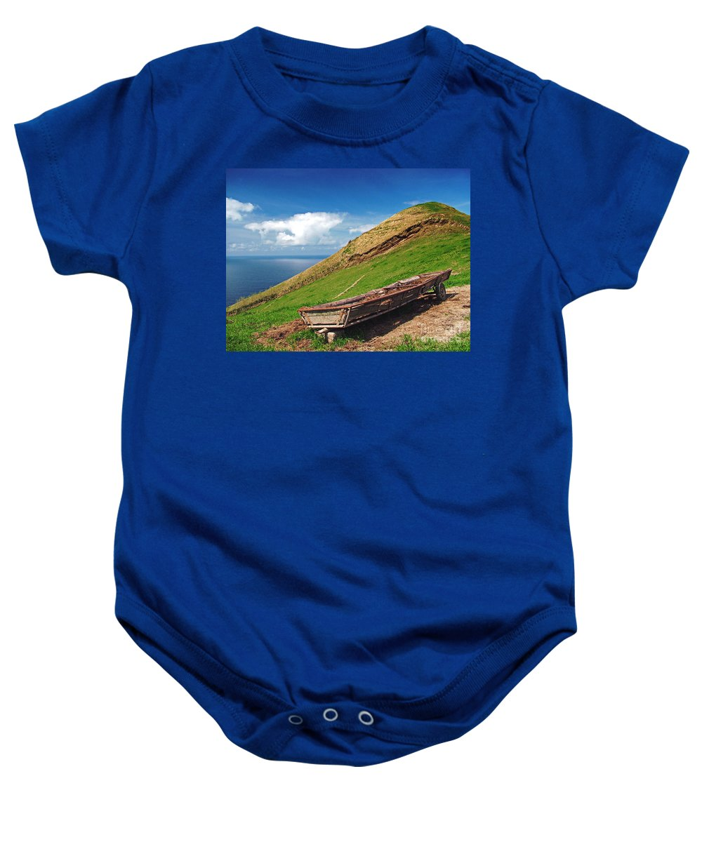 Europe Baby Onesie featuring the photograph Farming In Azores Islands by Gaspar Avila