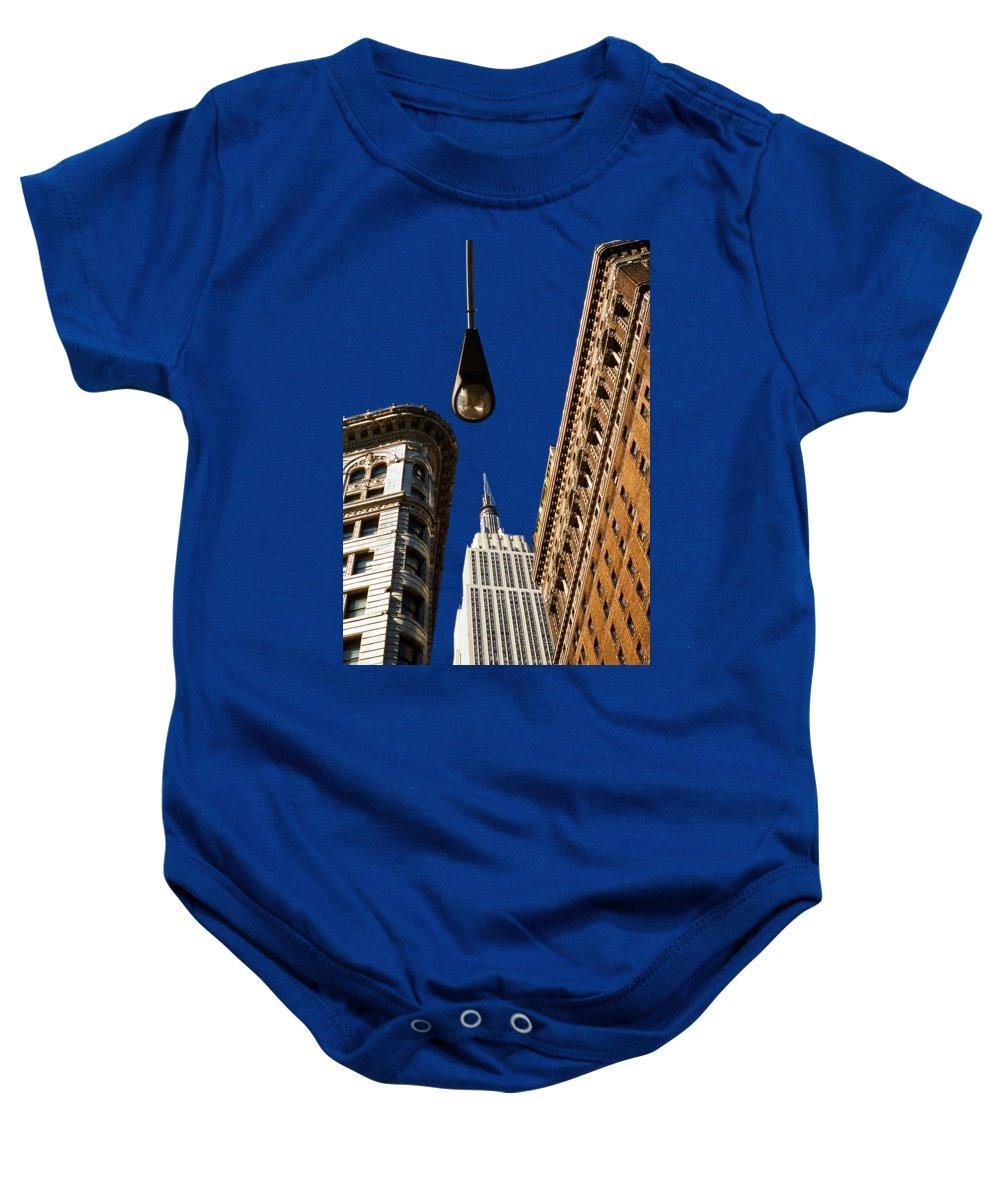 New York City Skyline Baby Onesies
