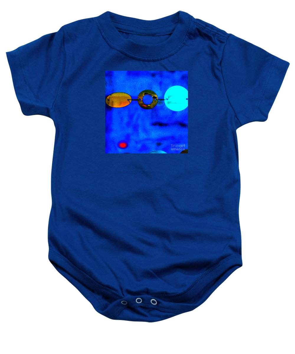 Abstract Baby Onesie featuring the photograph Genisis 3 by Deb Cohen