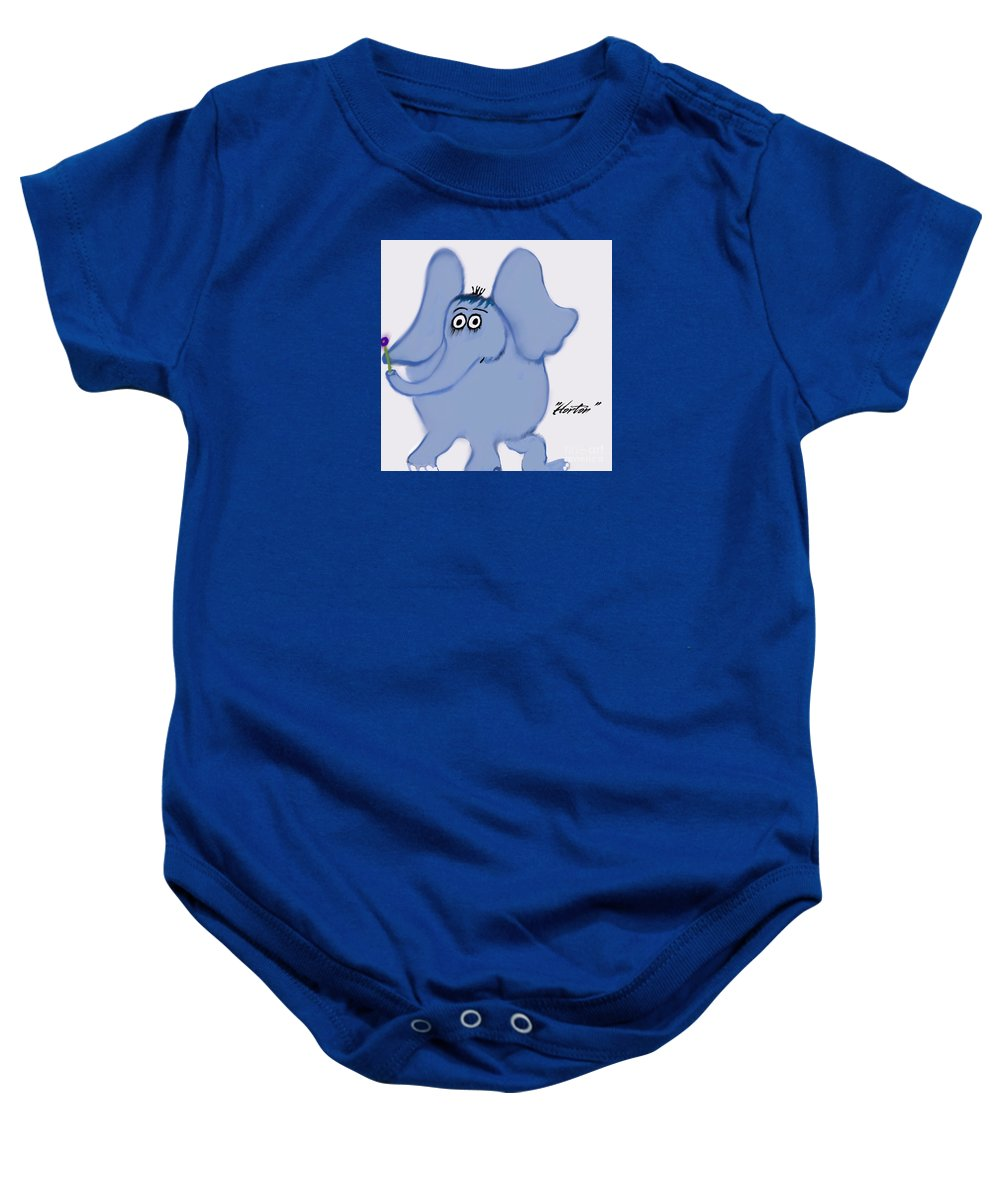 Horton Baby Onesie featuring the photograph Horton by Susan Garren