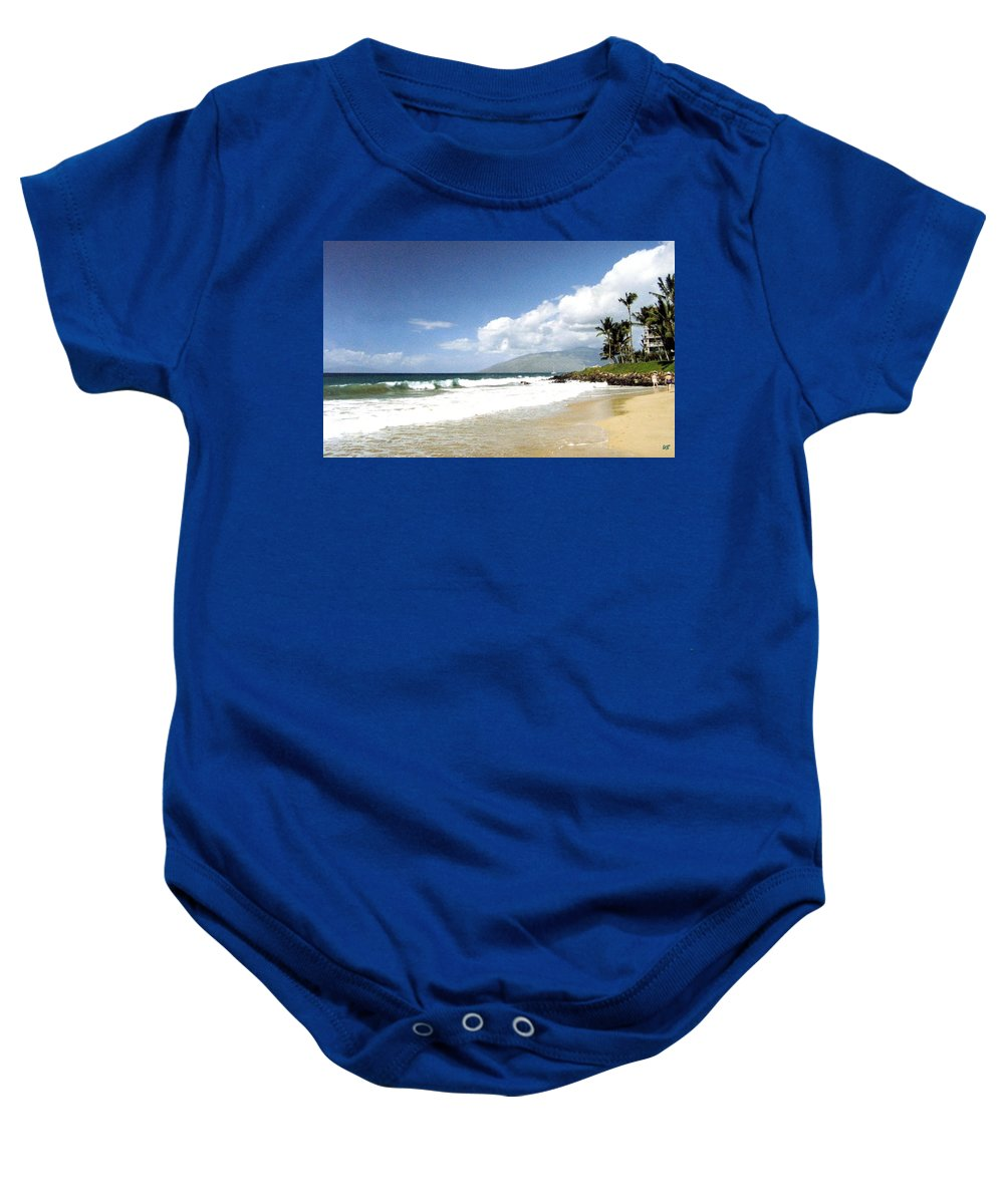 1986 Baby Onesie featuring the photograph Kihei by Will Borden