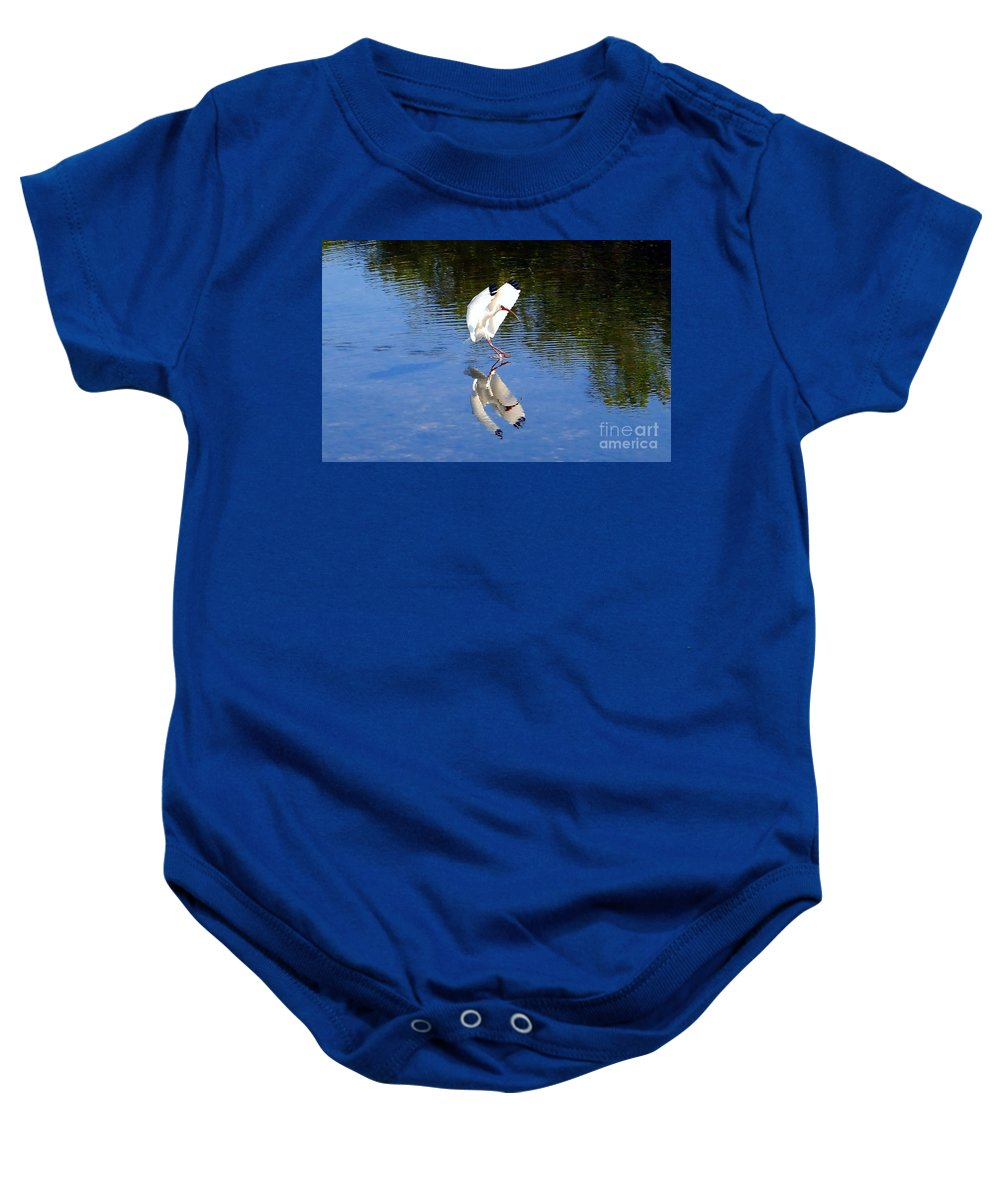 Landing Baby Onesie featuring the photograph Landing by David Lee Thompson