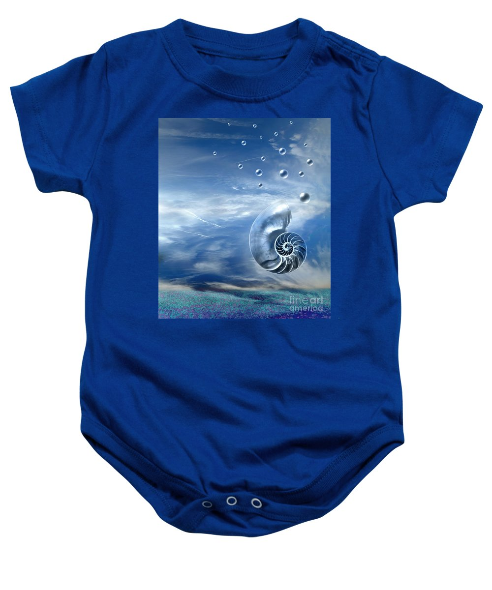 Surreal Baby Onesie featuring the photograph Life by Jacky Gerritsen