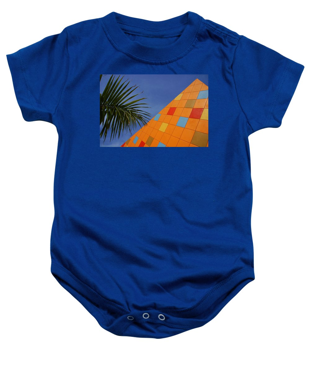 Architecture Baby Onesie featuring the photograph Modern Architecture by Susanne Van Hulst