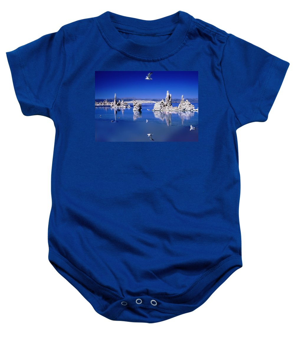 Photography Baby Onesie featuring the photograph Mono Uno by Paul Wear