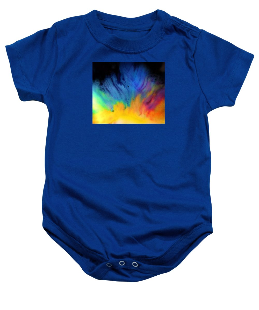 Color Baby Onesie featuring the photograph Movements In Color by Amy Cobb