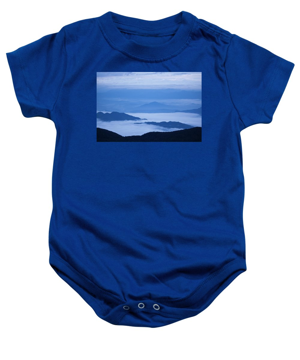 View Baby Onesie featuring the photograph Mystique by Andrew Paranavitana
