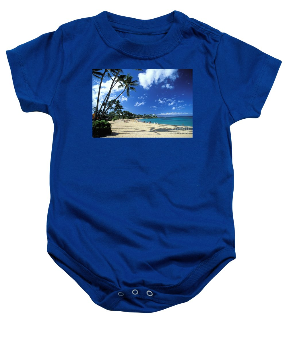 Allan Seiden Baby Onesie featuring the photograph Napili by Allan Seiden - Printscapes