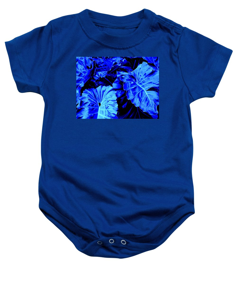 Blue Baby Onesie featuring the photograph Romney Blue by Ian MacDonald