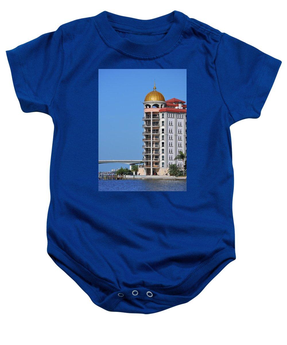 John Knapko Baby Onesie featuring the photograph Sarasota Life 02 by John Knapko